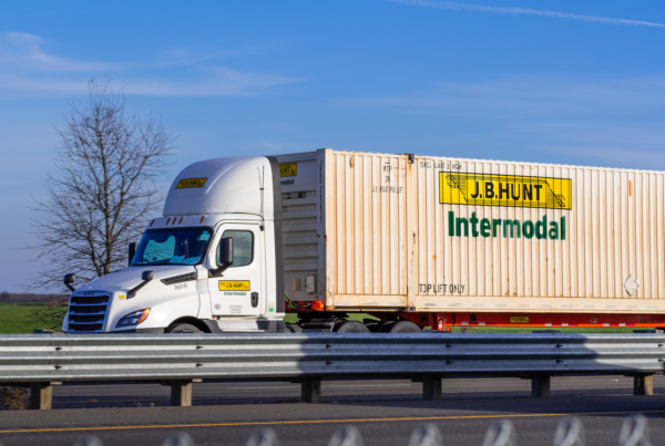 J.B. Hunt and Google entered a multi-year strategic partnership to bring AI and machine learning technologies to transportation logistics.